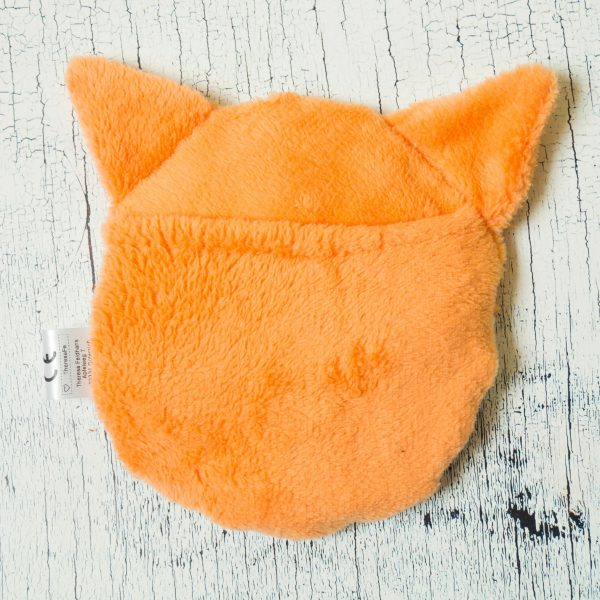 Fuchs Körnerkissen Rückseite komplett